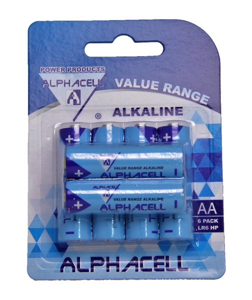Alphacell aa batteries - 6 pack picture
