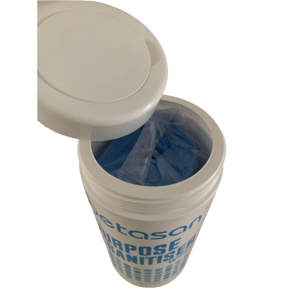 Betasan™ all purpose sanitiser wipes 80 x 36 picture