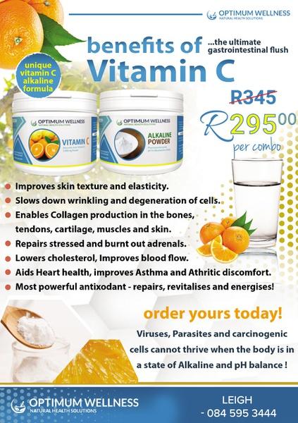 Alkalised vitamin c picture