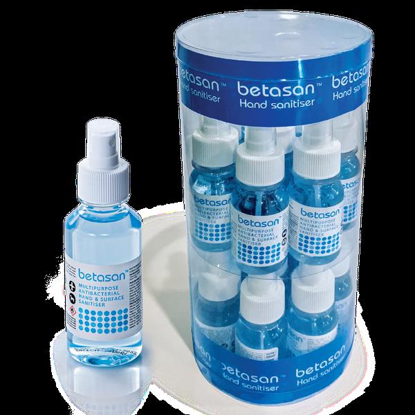 Betasan™ 100ml multipurpose antibacterial hand & surface sanitiser spray picture