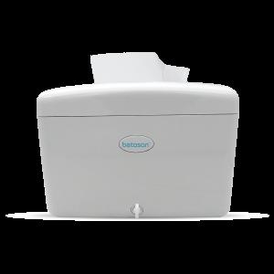 Betasan™ compact countertop wipe dispenser - white picture
