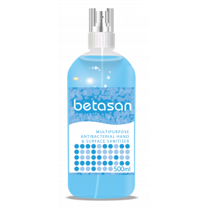 Betasan™ 500ml multipurpose antibacterial hand & surface sanitiser spray picture