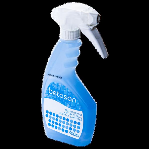 Betasan™ 300ml multipurpose antibacterial surface sanitiser spray picture