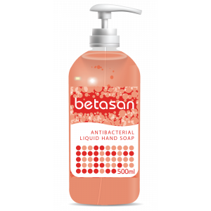 Betasan™ 500ml antibac liquid soap pump bottle picture
