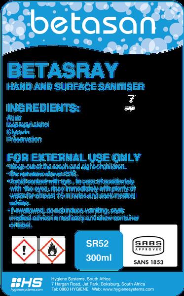 Betasan™ counter top dispenser refill bottle picture