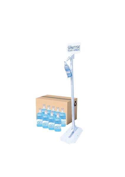 Betasan™ 500ml foot pedal hand sanitiser dispenser - free-on-loan bundle - cape town only picture