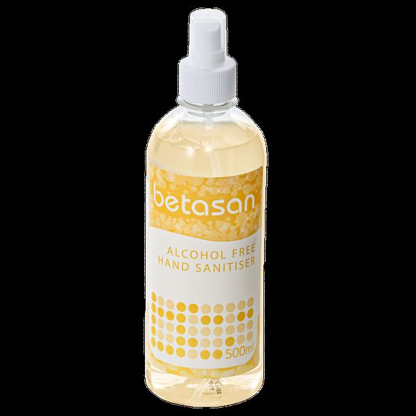 Betasan™ 500ml alcohol free liquid sanitiser spray picture