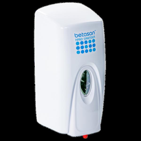 Betasan™ wall-mounted hand sanitiser sachet dispenser (manual) picture