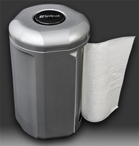 Spilpak paper dispenser (platinum) picture