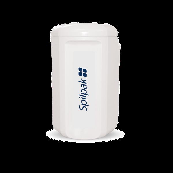 Spilpak paper dispenser - white picture