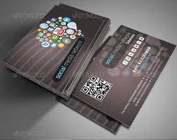 Social networking business card (design only) picture