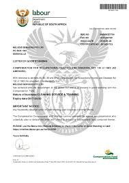 Renew letter of good standing (workmans compensation). picture