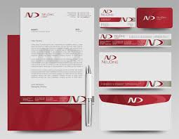 Brand designs (letterhead, email signature and business card designs) picture