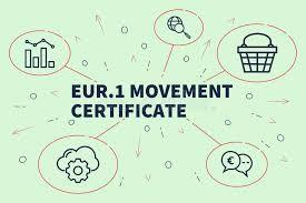 Eur 1 certificates picture