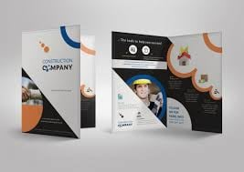 Half-fold brochure (design only) picture