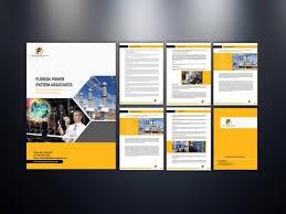 Business profile and logo design picture
