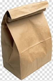Brown paper bags picture