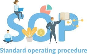 Standard operating procedures (sop) picture