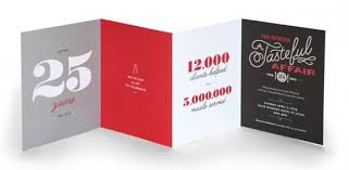 French folded brochures (design only) picture
