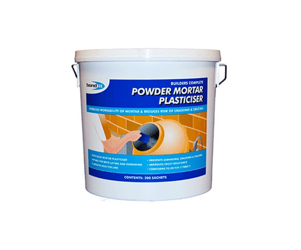 Powder mortar plasticisor picture