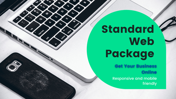Standard web design package picture