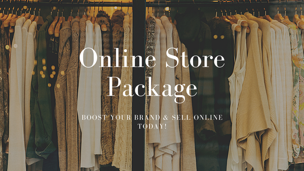 Start-up online store package picture
