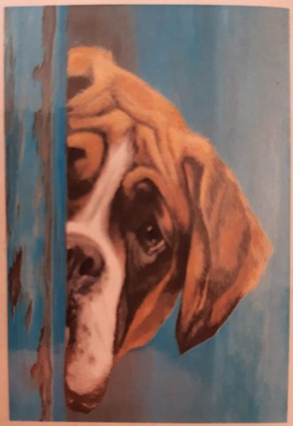 Diamond painting : dog picture