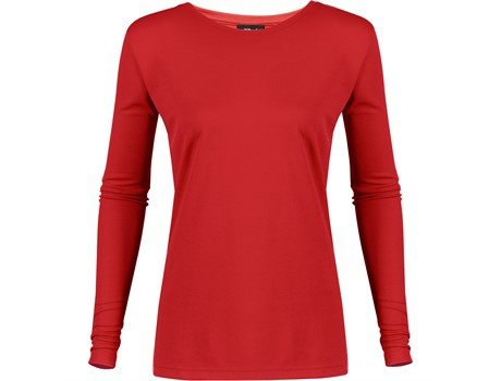 Ladies long sleeve all star t-shirt picture