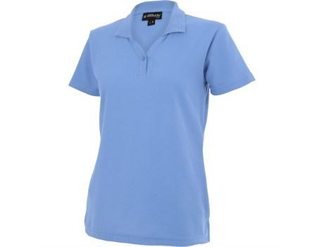Ladies basic pique golf shirt picture