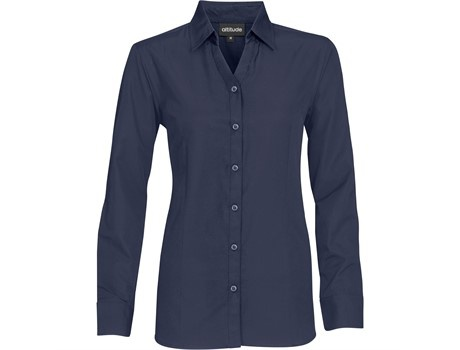 Ladies long sleeve catalyst shirt picture
