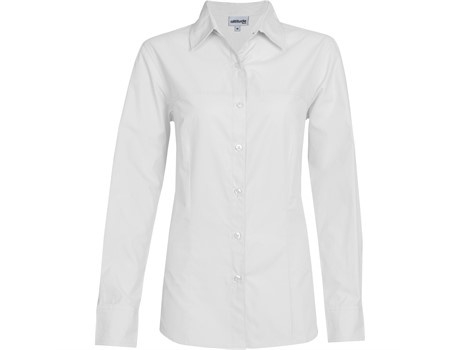 Ladies long sleeve empire shirt picture