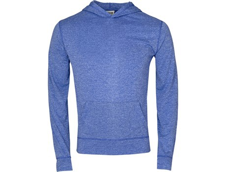 Mens fitness lightweight hooded sweater picture