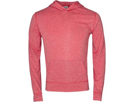 Ladies fitness lightweight hooded sweater picture