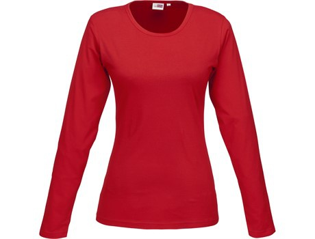 Ladies long sleeve portland t-shirt picture