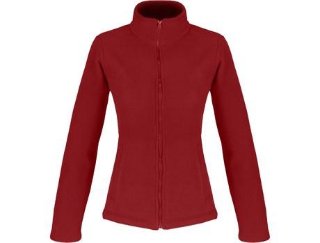 Ladies yukon micro fleece jacket picture
