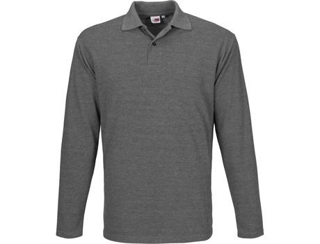 Mens long sleeve elemental golf shirt picture
