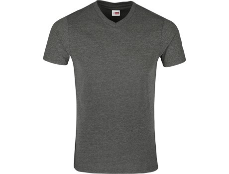 Mens michigan melange v-neck t-shirt picture