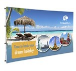 Legend straight banner wall 3.7m x 2.25m picture