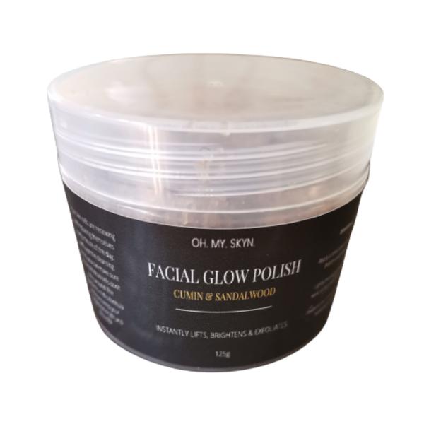 Facial glow polish (cumin & sandalwood) 125g picture