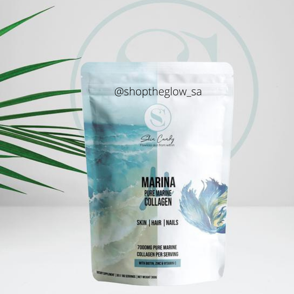 Skin candy marina – pure marine collagen with vitamin c, zinc and biotin picture