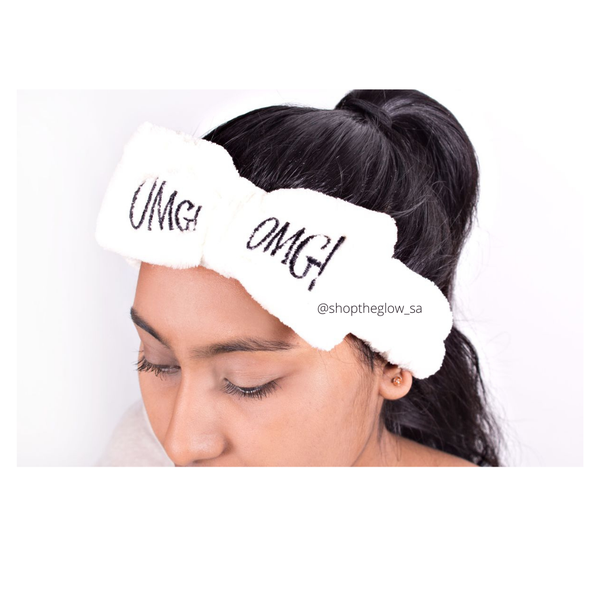 Soul beauty omg! plush hair bow headband light pink picture