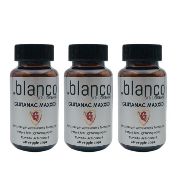 3 x glutanac maxxed glutathione capsules picture