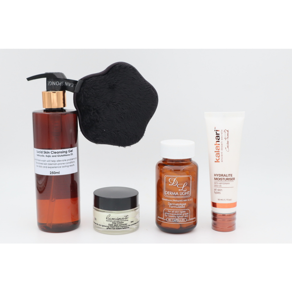 Oily skin package picture