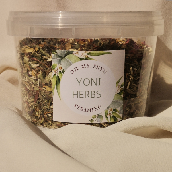 Yoni steaming herbs picture
