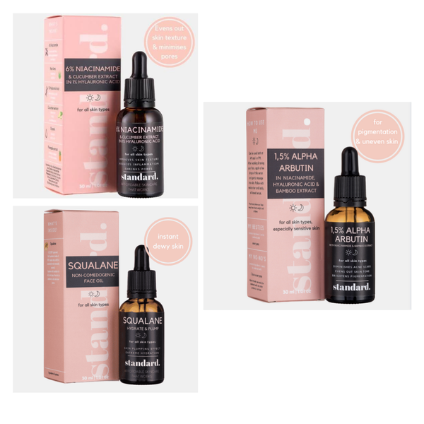 Ultimate glow - 3 x serum package picture