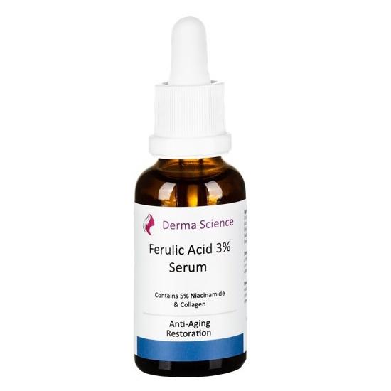 Ferulic acid 3% serum picture