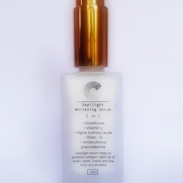 5 in 1 whitening sepilight serum picture