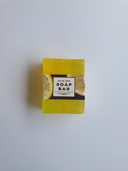 Lemon soap - brightening - limited edition picture