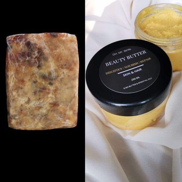 Black soap + beauty shea butter combo picture