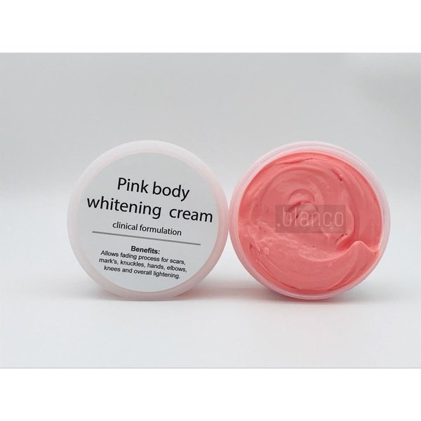 Pink body cream picture